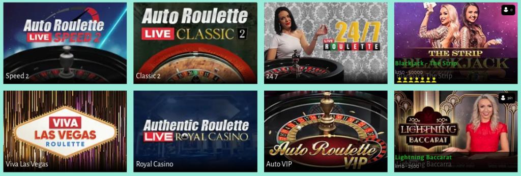 Billion Casino live casino