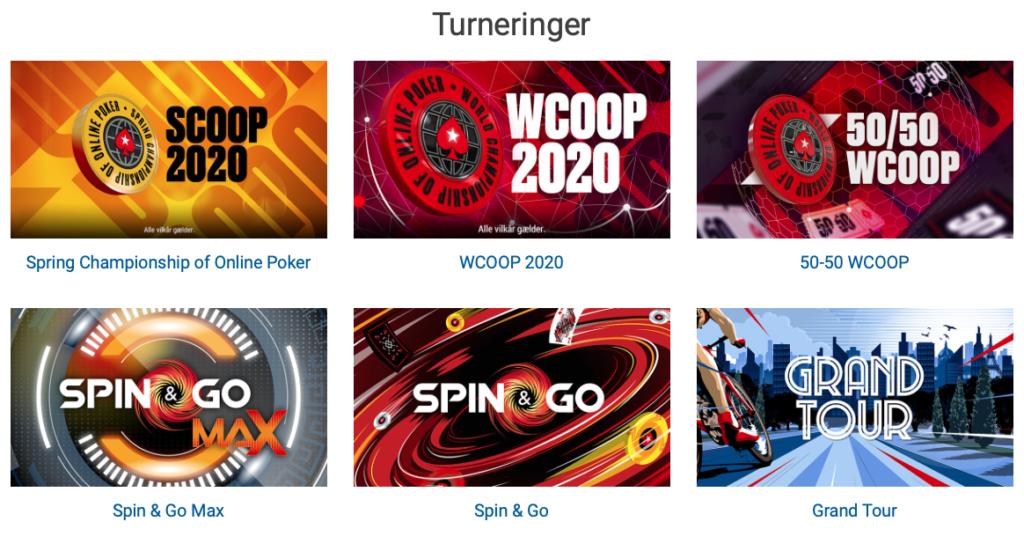Pokerstars turneringer