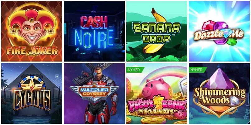 Spil gratis på spilleautomater hos NordicBet Casino