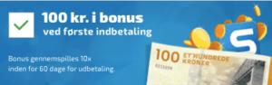 100 kr. velkomstbonus