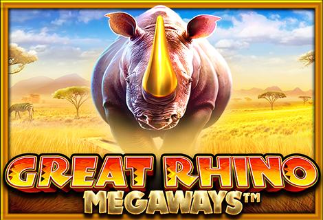 Great Rhino Megaways - Casinofinder.dk