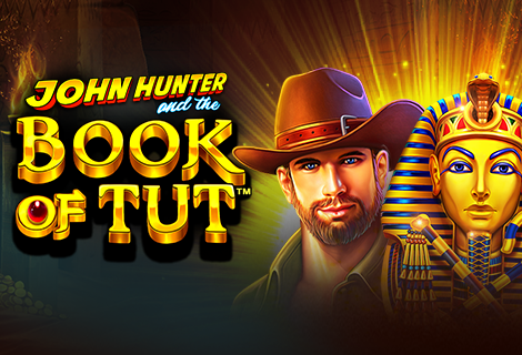John Hunter and the Book of Tut banner