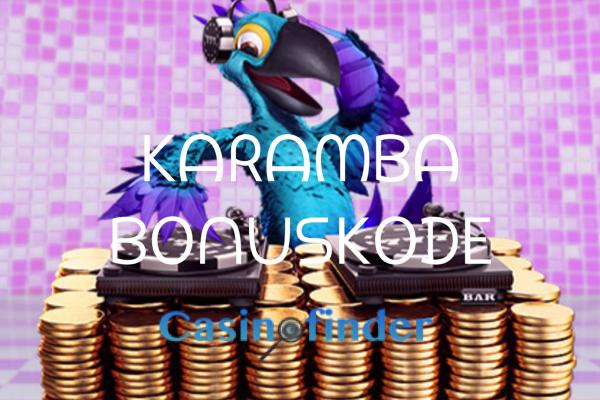 Karamba bonuskode - Casinofinder