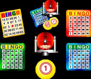 Mange forskellige bingoplader