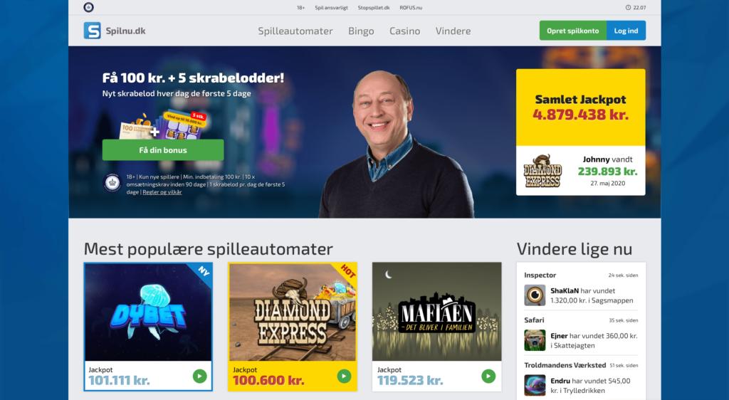 Mange nye onliner casinoer i Danmark