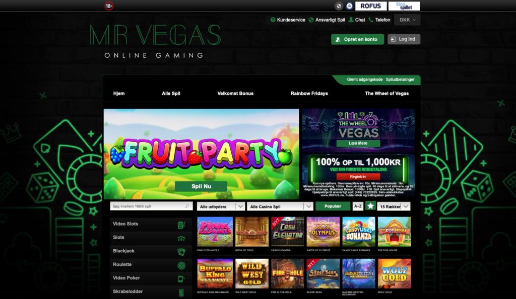 Mr Vegas forside