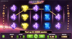 Spilnu bonuskode til Starburst