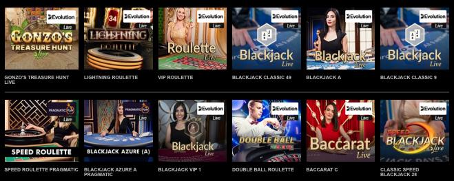 Stort udvalg af casinospil hos Mr Vegas