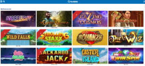 NordicBet casino spilleautomater