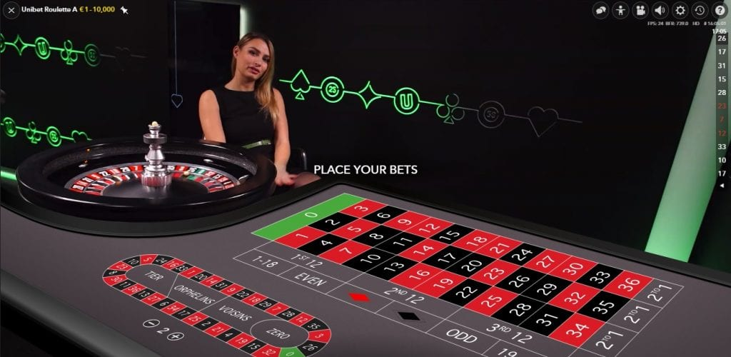 Spil live casino